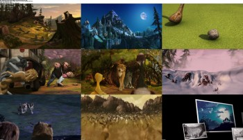 Alpha and Omega (2010) BluRay 720p 600MB Ganool