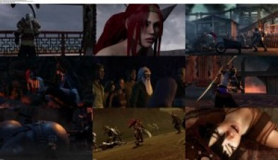 movie screenshot of Heavenly Sword fdmovie.com