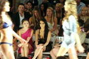 17cb3c88928837 Kim Kardashian attends the Beach Bunny Swimwear  2011 Fashion Show in Miami, Jul 16, 2010