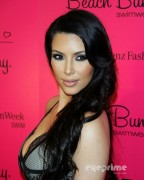 6b937888928760 Kim Kardashian attends the Beach Bunny Swimwear  2011 Fashion Show in Miami, Jul 16, 2010