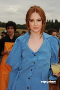 03f64689260397 Karen Gillan attends the Veuve Clicquot Gold Cup  Final in Midhurst, UK, Jul 18, 2010