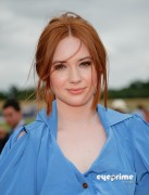 e7b56c89260389 Karen Gillan attends the Veuve Clicquot Gold Cup  Final in Midhurst, UK, Jul 18, 2010