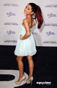 965cc5118813137 Ariana Grande attends the Justin Bieber Never Say Never Premiere in L.A, Feb 8