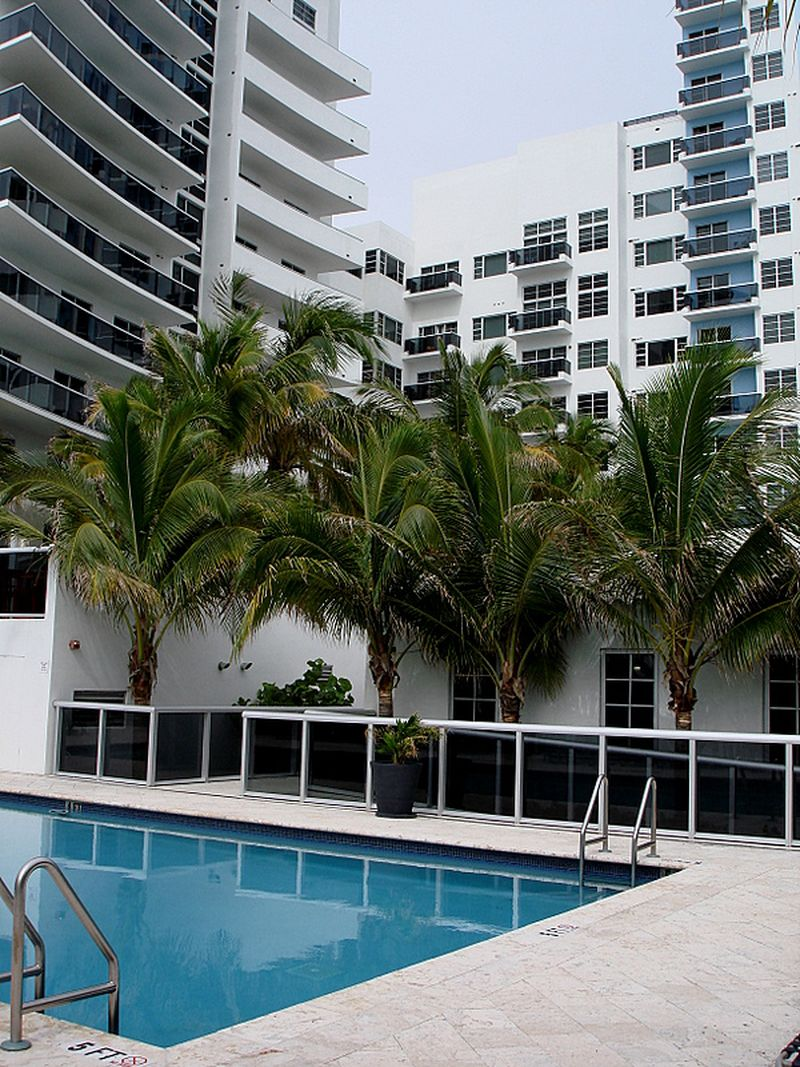 Miami Zwembad Hotel Churchill Suites Crown Miami Beach In Miami Beach Verenigde