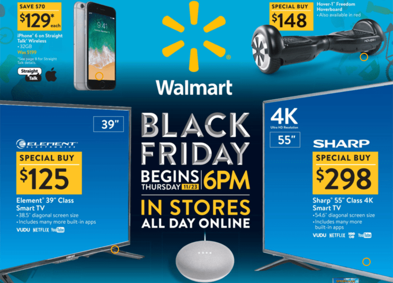 Black Friday Specials Walmart Vs Amazon Best Black Friday 2017 Deals