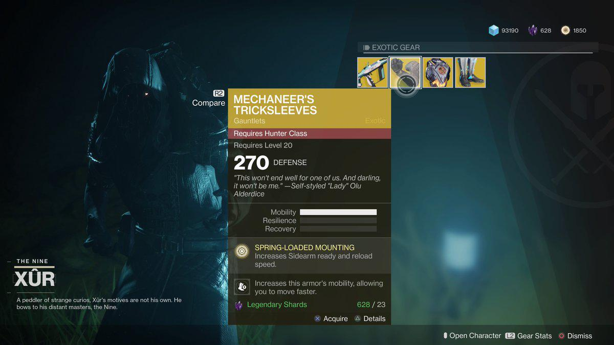 Xur Xur Is A Perfect Reminder Of How Much Destiny 2 Has Been