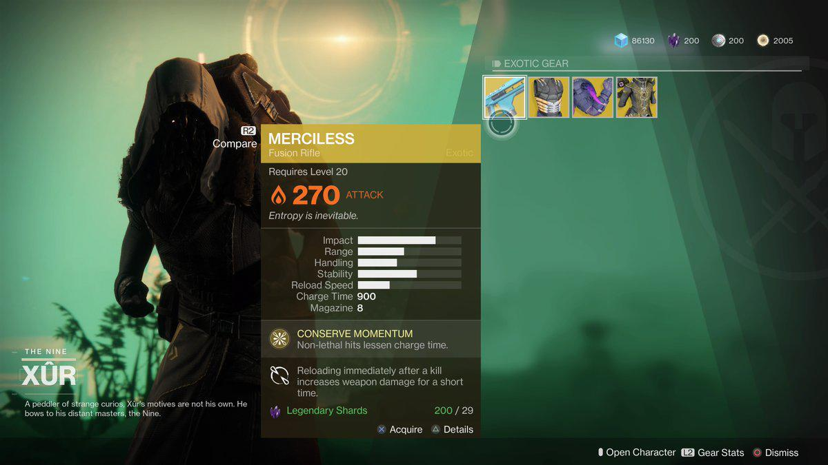 Xur Destiny 2 S Xur Is Here And He S Selling The Best Exotic