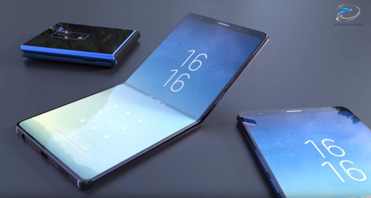 Mobile Samsung New Android Folding Phone Could Beat Samsung
