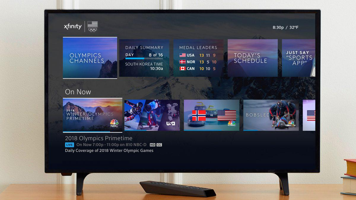 Xfinity Comcast S New Xfinity Platform Blurs Streaming Media Live Tv