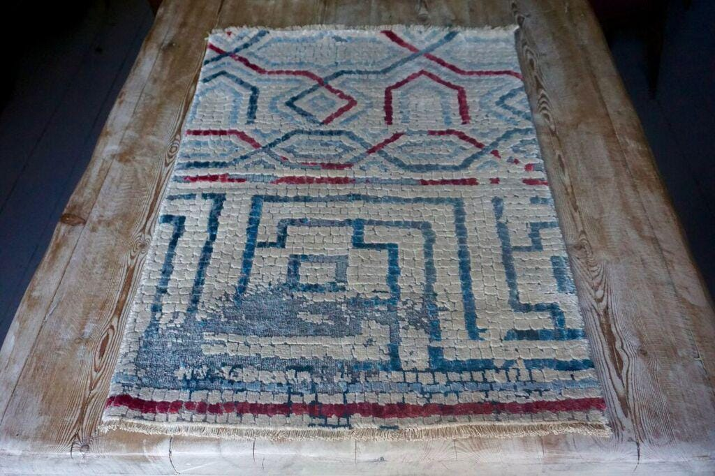 Carpet U2 Roman Villa Mosaics Inspired These Gorgeous Archaeological Rugs