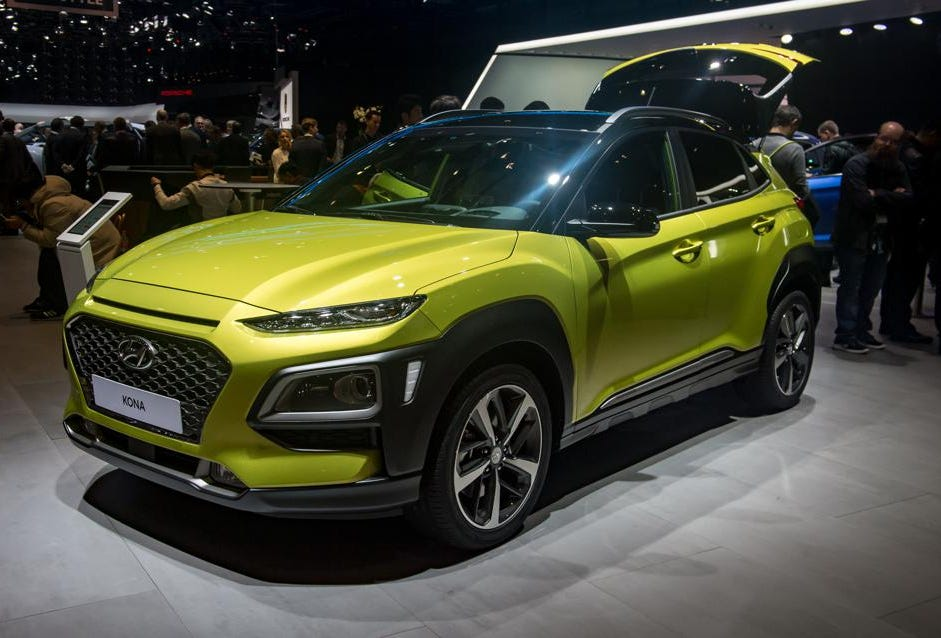 Cuv Car Hyundai Kona Newest Small Cuv Inspired By Lava And Cleveland