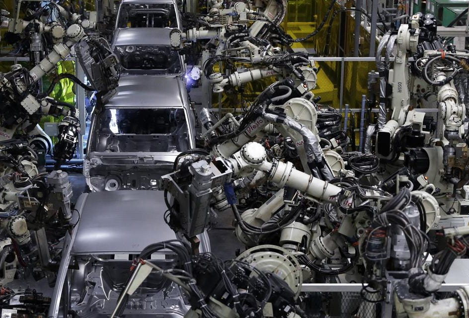 Vehicle Manufacturers In Japan Japan Must Refocus From U S Dominated Ai To Integrating