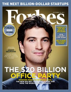 WeWork\u0027s $20 Billion Office Party The Crazy Bet That Could Change