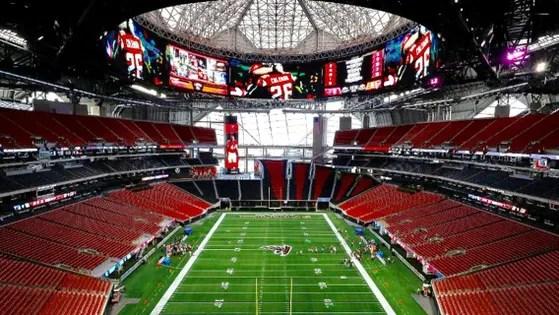 A Bird\u0027s-Eye View Of Mercedes-Benz Stadium, Atlanta\u0027s Epic NFL