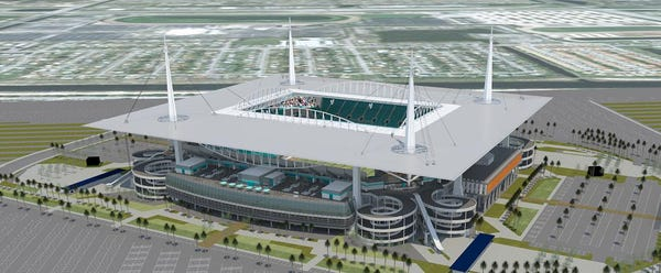 Fan-First Attitude Guided Miami Dolphins\u0027 Renovation Plans