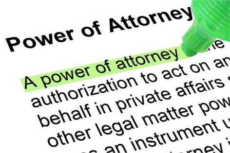 Don\u0027t Let Your Power Of Attorney Become Powerless