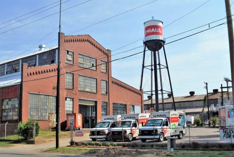 U-Haul Hitches Its Ride To The Reuse Of Buildings
