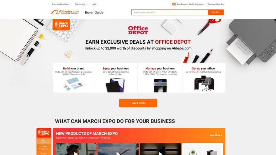 Why Alibaba And Office Depot Inked A \u0027Strategic Collaboration\u0027