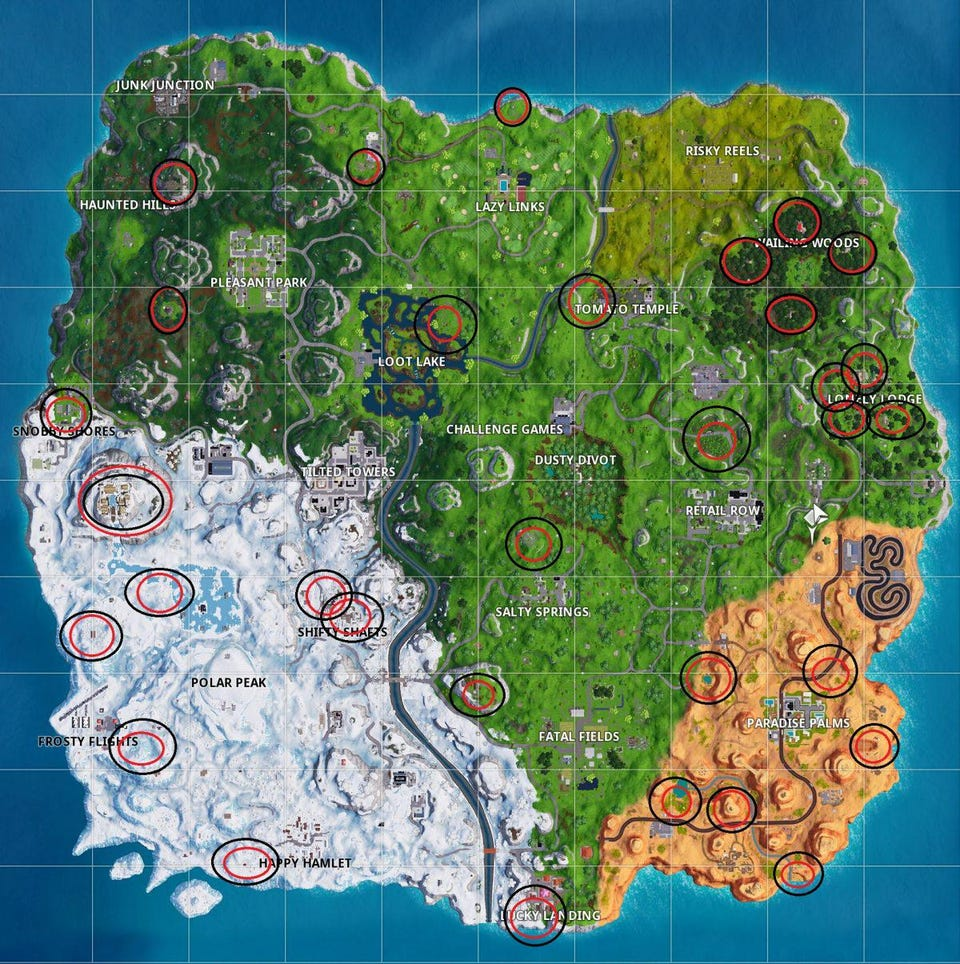 Cuisine Royale How To Heal Map Here Are All The New Environmental Campfire Locations
