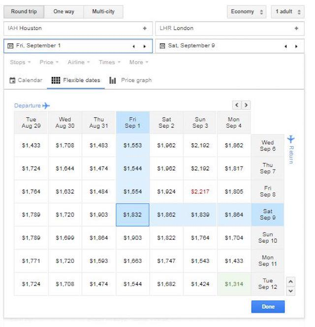 Google Flights Tips To Bringing Your Airline Ticket Cost Down With Google Flights