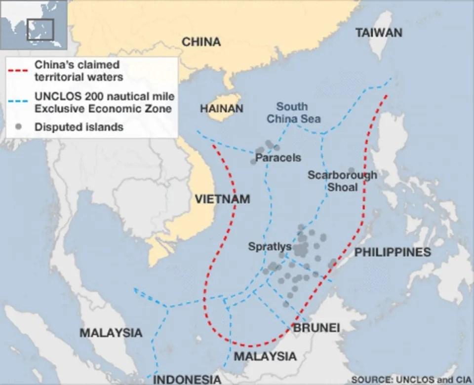 The South China Sea Dispute And China\u0027s \u0027Peaceful\u0027 Rise?