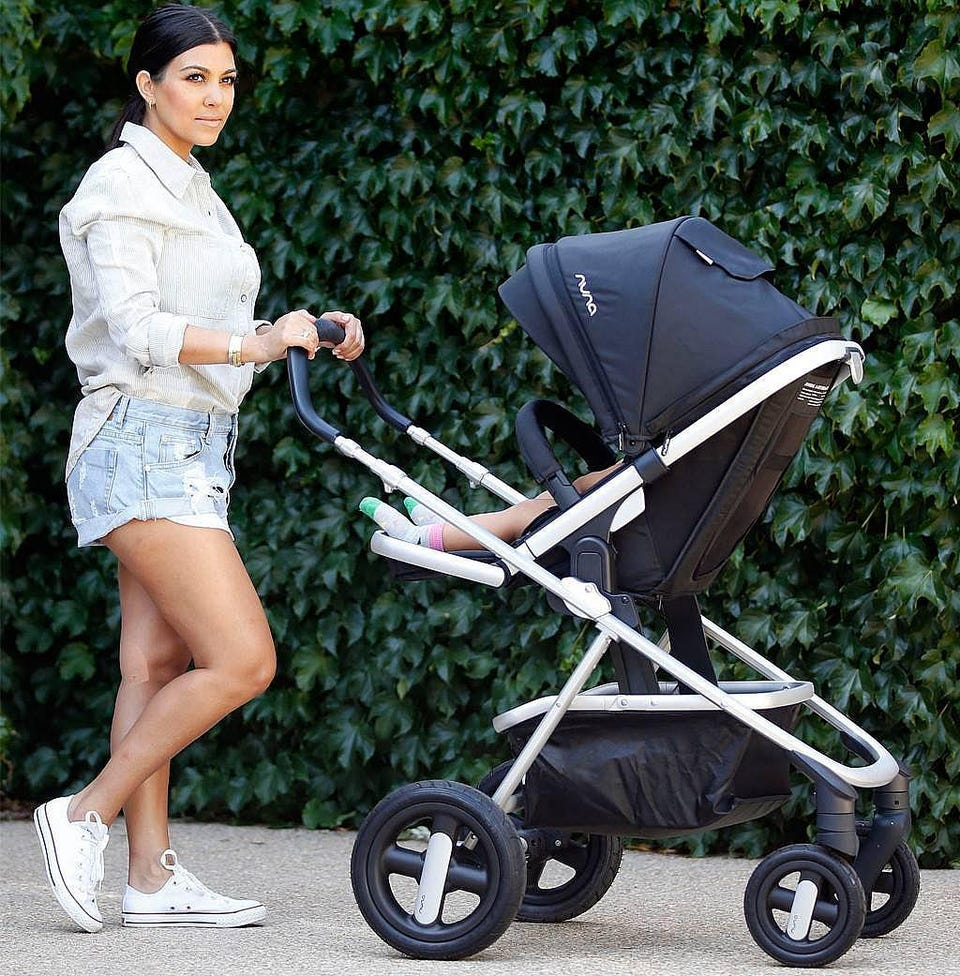 Stroller Car Race Stylish Strollers And Car Seats Celebrity Parents Really Use