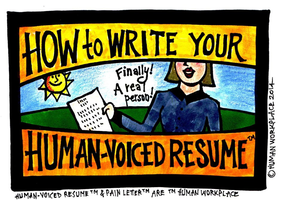 How To Write Your Human-Voiced Resume