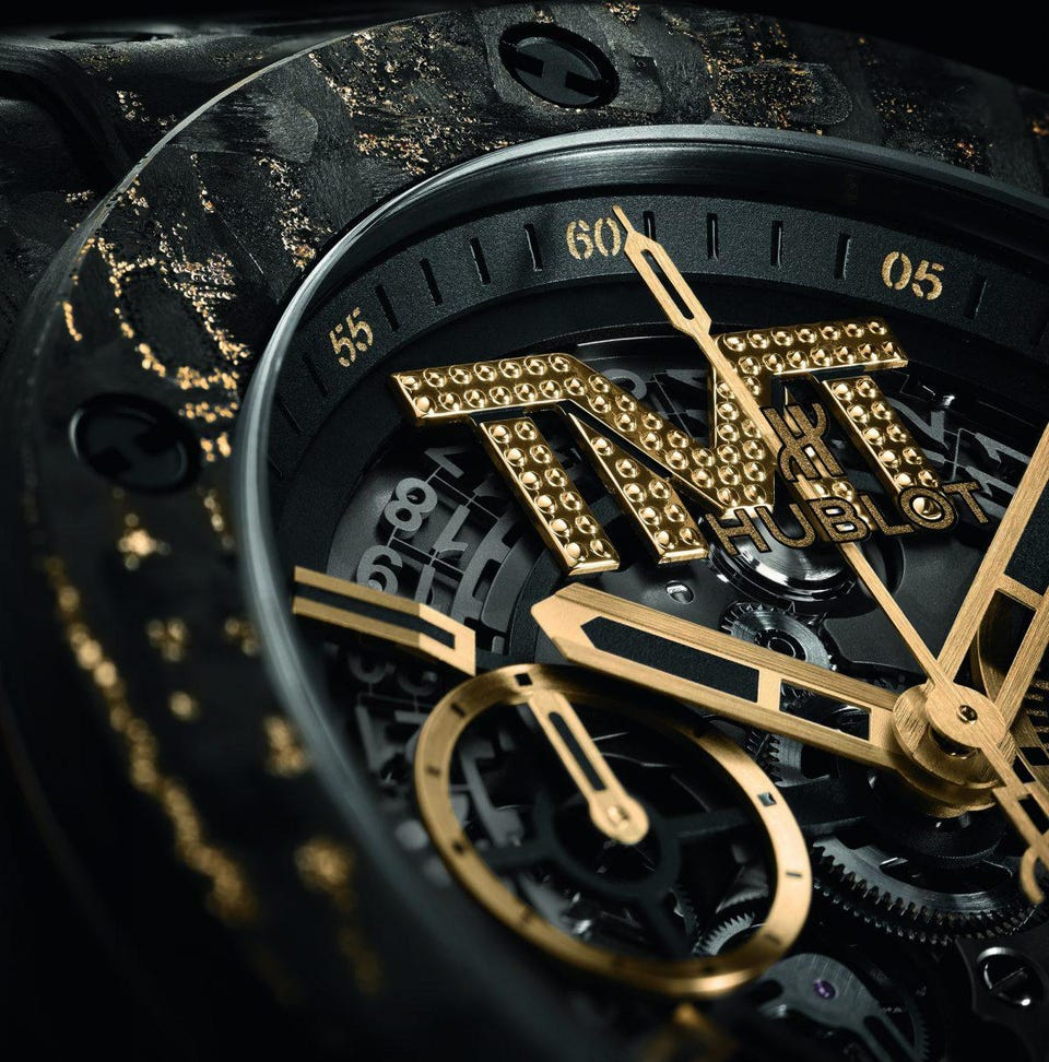 Uhr Hublot Exclusive Interview Floyd Mayweather On His New Limited Edition