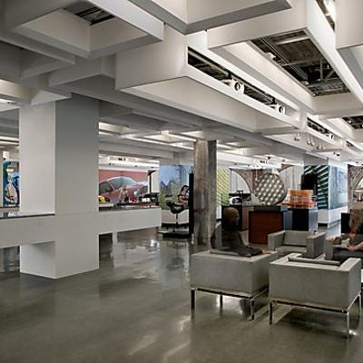 Creative Office Reception Design 10 Cool Office Spaces