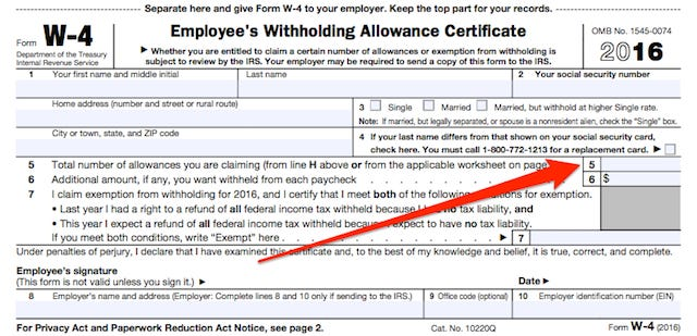 Figuring Out Your Form W-4 How Many Allowances Should You Claim?
