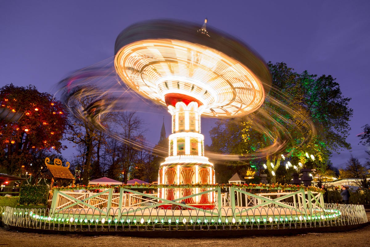 Tivoli Gardens The Copenhagen Theme Park Still Going Strong After 176 Years