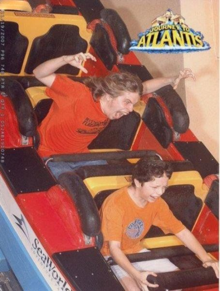 People From Roller Coasters ThumbPress 06 Winners and Losers from Roller Coasters (62 Pics)