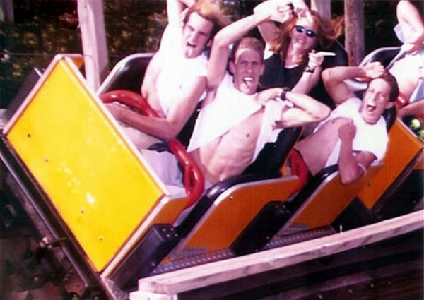 People From Roller Coasters ThumbPress 11 Winners and Losers from Roller Coasters (62 Pics)
