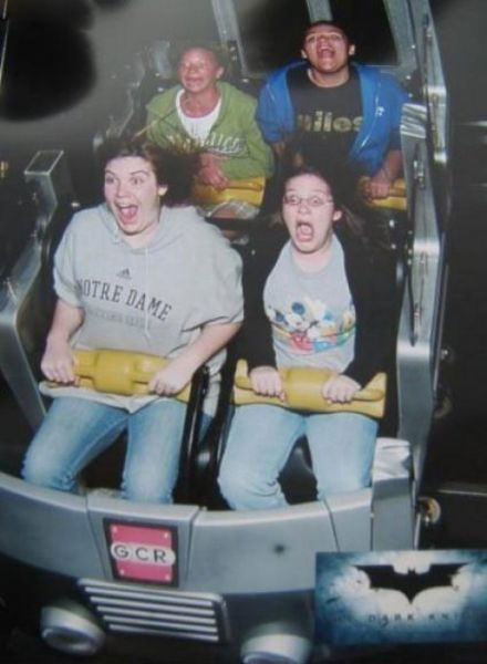 People From Roller Coasters ThumbPress 22 Winners and Losers from Roller Coasters (62 Pics)