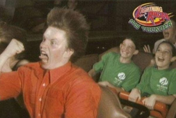 People From Roller Coasters ThumbPress 38 Winners and Losers from Roller Coasters (62 Pics)