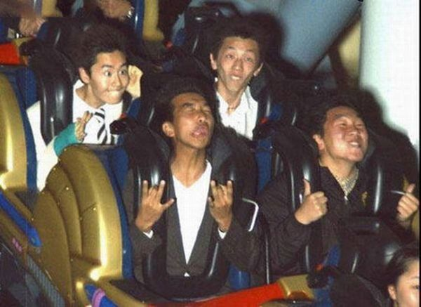 People From Roller Coasters ThumbPress 51 Winners and Losers from Roller Coasters (62 Pics)