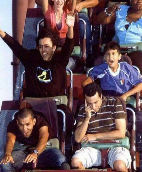 People From Roller Coasters ThumbPress 55 Winners and Losers from Roller Coasters (62 Pics)