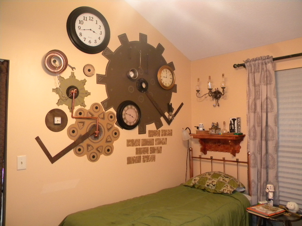 Steampunk Decor Steampunk And Vintage Things To Decorate A Bedroom