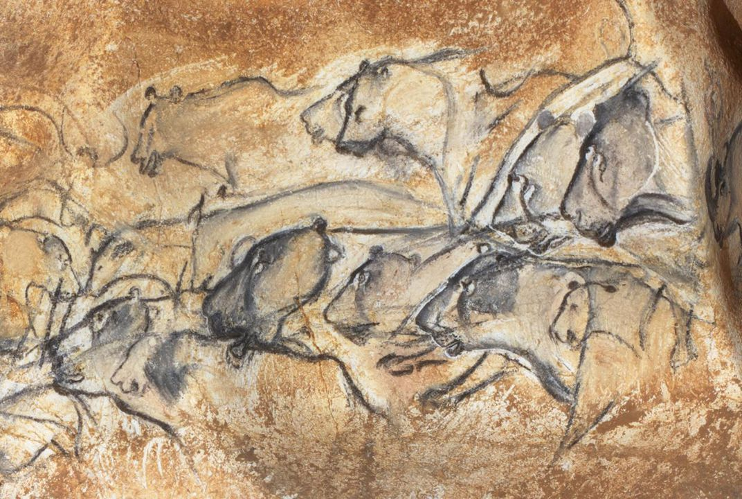 Only A Handful Of People Can Enter The Chauvet Cave Each