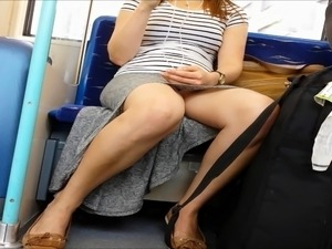 accidental pantyhose upskirt