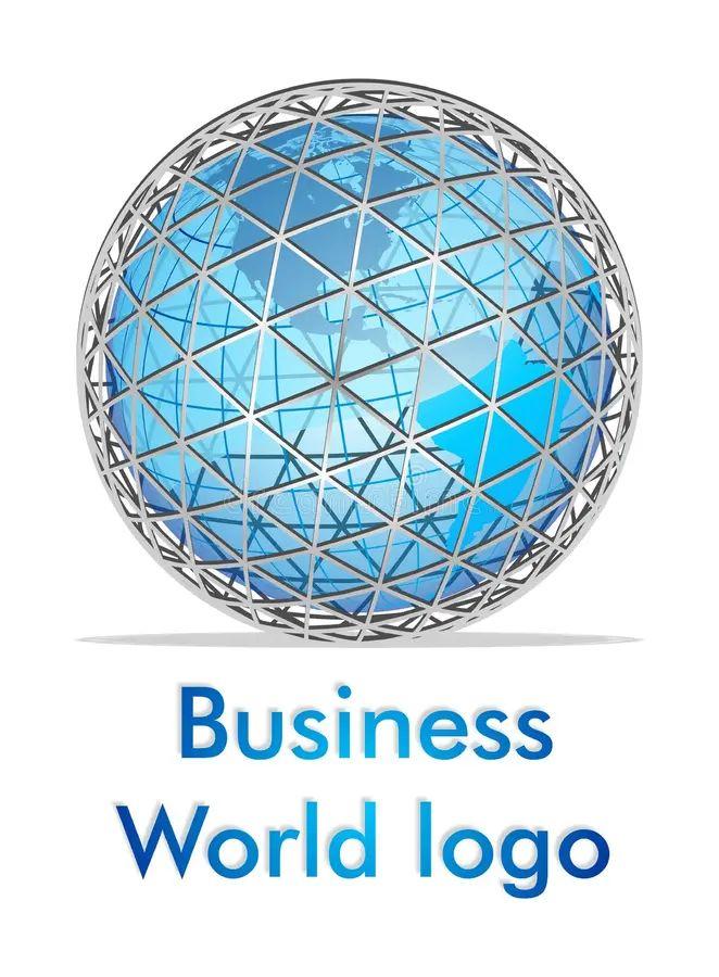 abstract globe logo