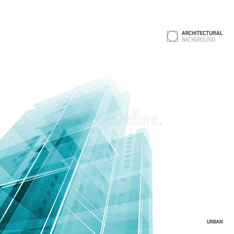 Abstract Architecture Background, Layout Brochure Template, Abstract