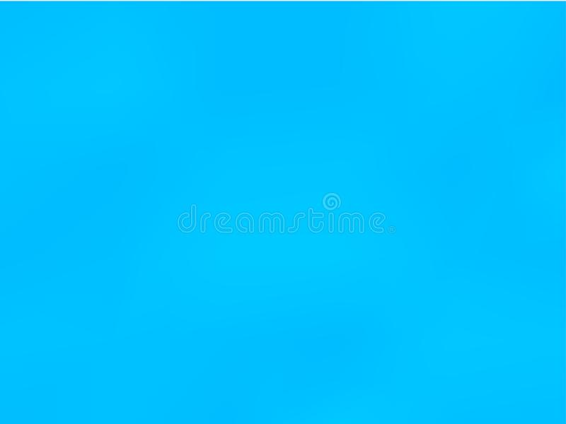 Abstract Blurred Blue Background A Simple Gradient Pattern For Your