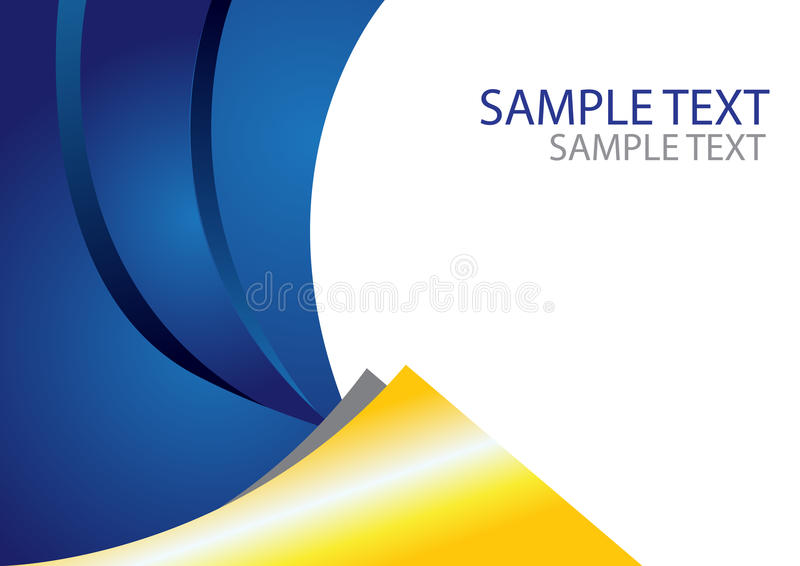 Abstract Brochure Template Size A4 Stock Vector - Illustration of