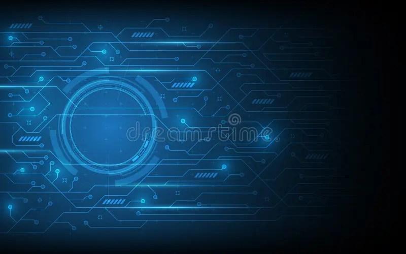 Abstract Circuit Pattern Futuristic Technology Design Background - circuit design background