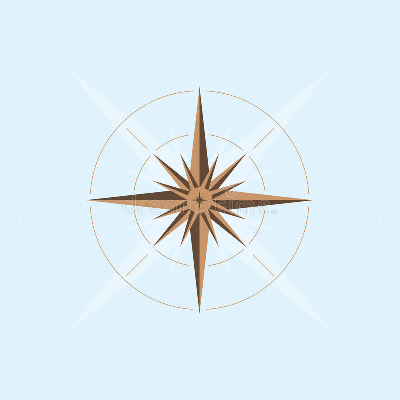 Abstract compass design stock vector Illustration of abstract