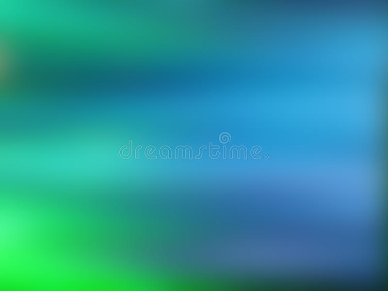 Abstract Gradient Background With Blue And Green Colors Stock