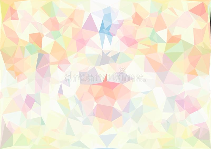 Cute Unicorn Marble Wallpaper For Laptop Abstract Pastel Color Low Poly Bokeh Wallpaper Stock Image