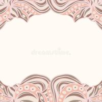 Abstract pink borders stock vector. Illustration of modern ...