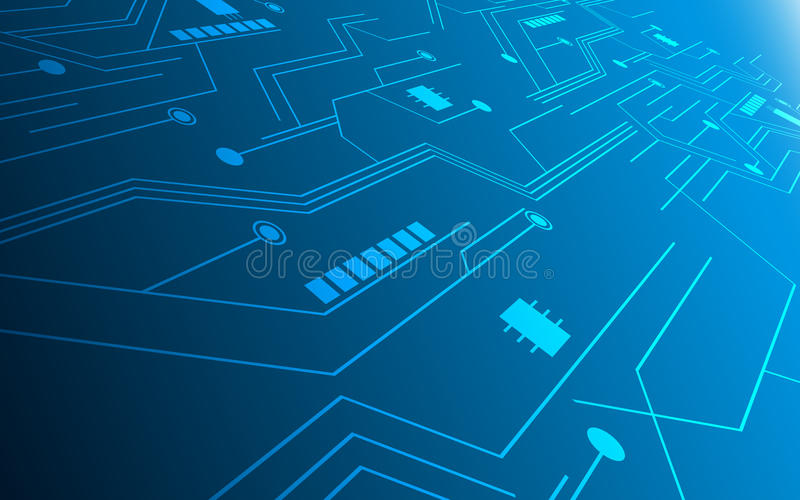 Abstract Technology Future Innovation Concept Circuit Hi Tech - circuit design background